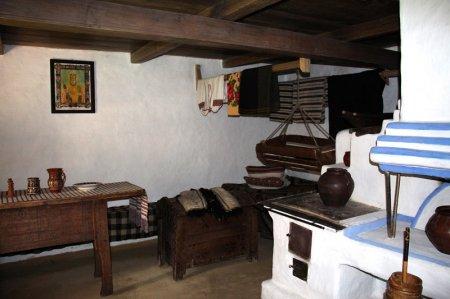 Интерьер кубанской избы 18 век