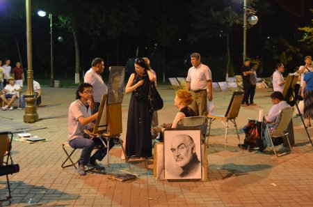 Краснодарские художники за работой
