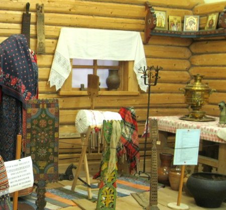 Убранство казачьей хаты