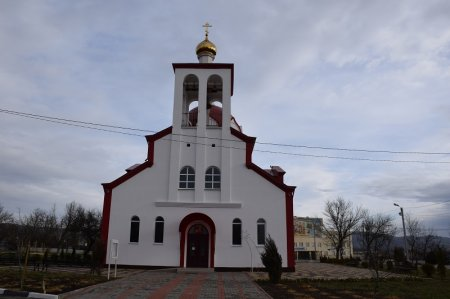 Храм в станице Гостагаевской