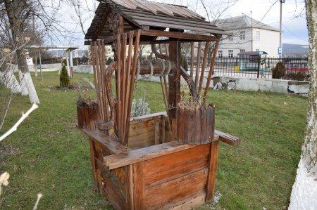Макет колодца в Натухаевской