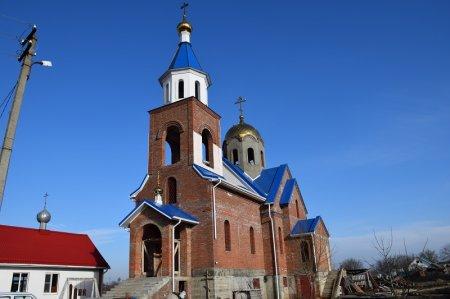 Строительство храма в селе Киевском