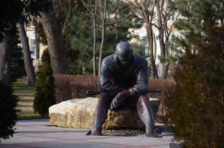 Памятник войнам авганцам в Анапе