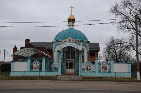 Храм в станице Воронежской