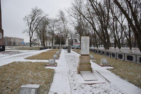 Аллея памяти в Калининской