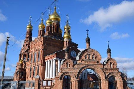 Храм в станице Ленинградской