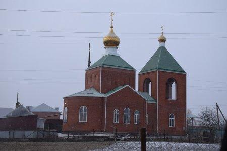 Храм в хуторе Новоукраинском