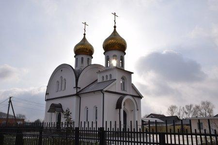 Храм в селе Мерчанском