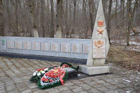 Памятник Герою Советского Союза Таран П.Т.