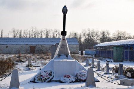Памятник войнам освободителям в хуторе Красном