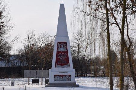 Памятник Герою Советского Союза Приймак Н.А.