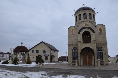 Храм в станице Северской