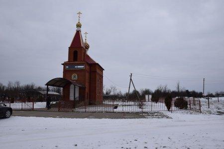 Часовня при кладбище в Северской
