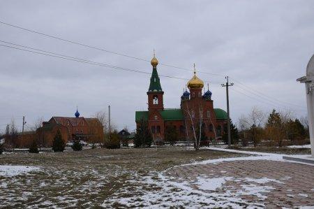 Храм в поселке Ахтырском