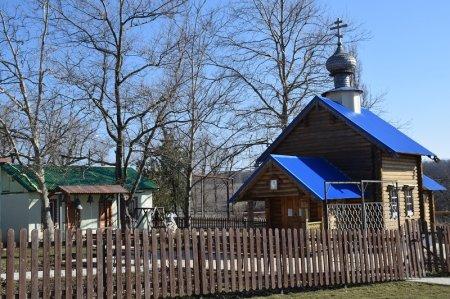 Часовня в хуторе Школьном