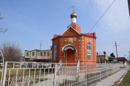 Часовня в Приморско-Ахтарске