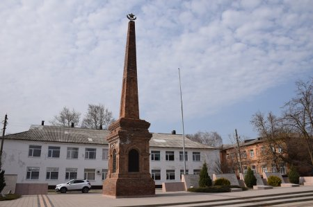 Стела в Приморско-Ахтарске