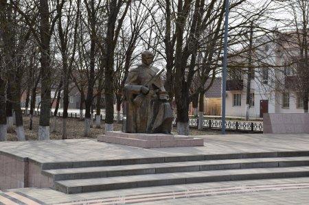 Памятник солдату в Приморско-Ахтарске
