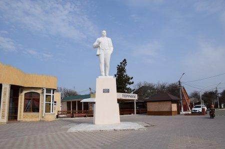 Памятник Ленину в Приморско-Ахтарске
