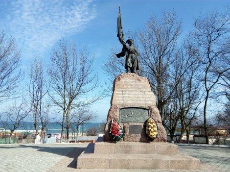 Памятник казакам Тамани