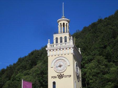 Башня в Роза Хутор