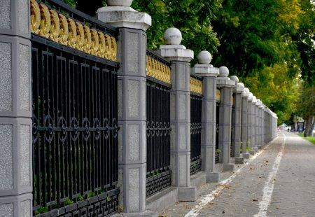 Забор Законодательного собрания Краснодарского края