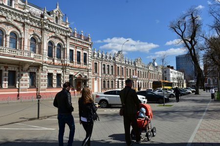 Улица Гимназическая в Краснодаре