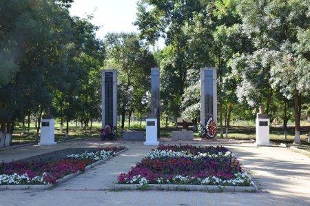 Мемориал в станице Мингрельской