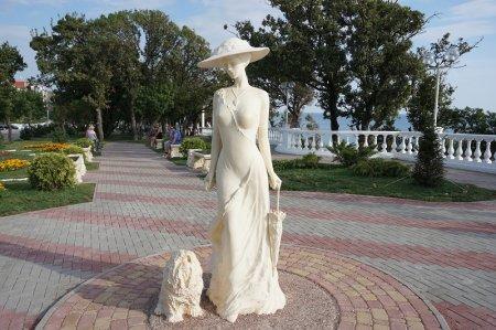Дама с собачкой в Геленджике