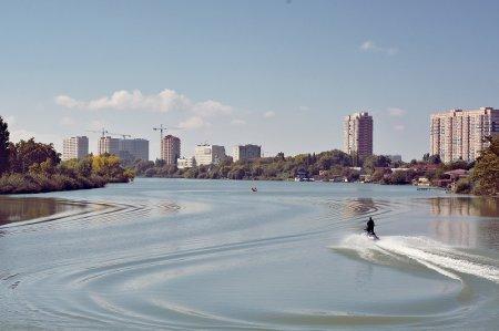 Акватория реки Кубань
