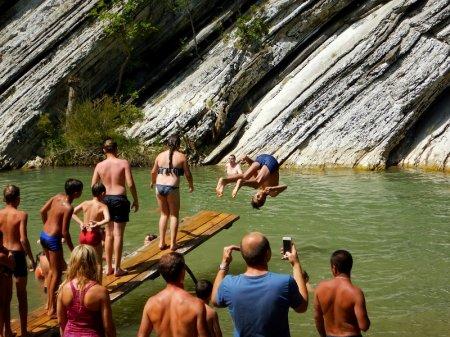 Горная река Шапсухо в Лермонтово