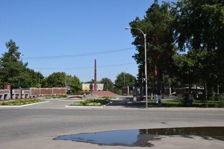 Мемориальный комплекс в Мостовском