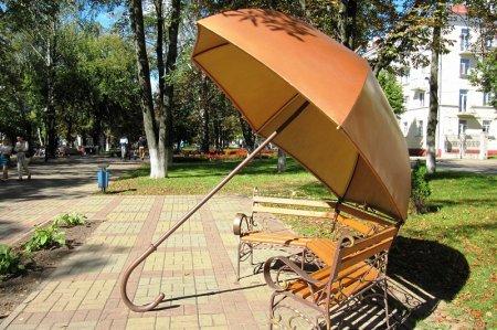 Зонтик в парке