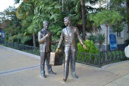 Памятник героям фильма