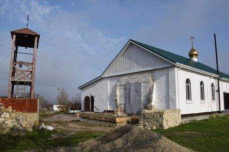 Храм в Фонталовской
