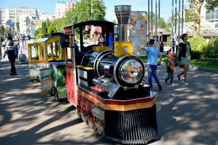 Детский паровозик в Краснодаре