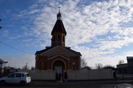Храм в Вышестеблиевской