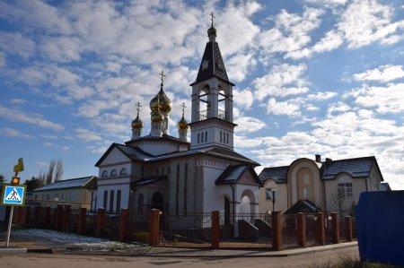 Храм в Голубицкой