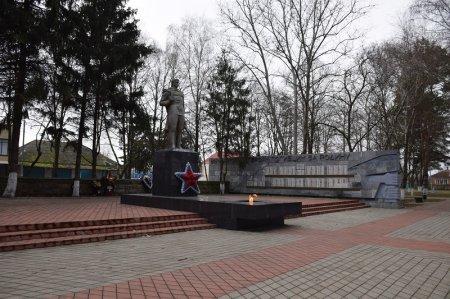 Вечный огонь в Кореновске