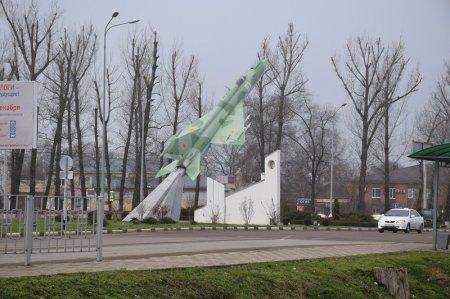 Памятник летчикам в Кореновске
