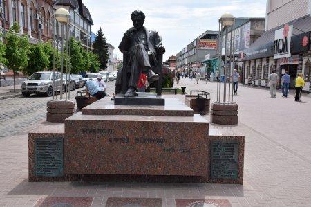 Памятник Бондарчуку С.Ф. в Ейске