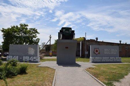 Памятник войнам-автомобилистам в Ейске