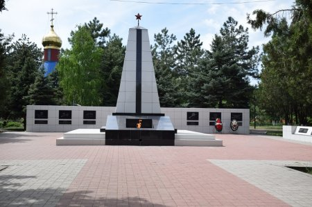 Вечный огонь в Старощербиновской