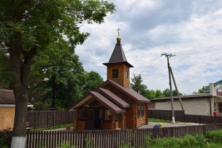 Деревянная церковь в Имеретинской