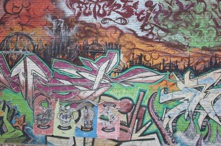 Уличное граффити Сочи