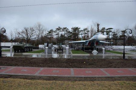 Парк военной техники в Анапе