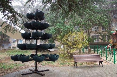 Цветочник в парке