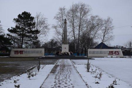 Монумент в Новорождественской