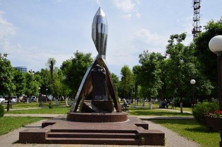Монумент войнам-афганцам в Белореченске