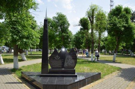 Памятник погибшим пожарным в Белореченске